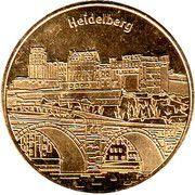 National Tokens Deutsche Münzkollektion - Heidelberg – obverse