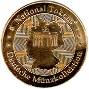 National Tokens Deutsche Münzkollektion - Heidelberg – reverse
