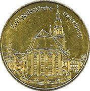 National Tokens Deutsche Münzkollektion - Heidelberg (Heiliggeistkirche) – obverse