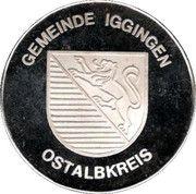 Gemeinde Iggingen – obverse