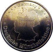 Token - Germany Deutsche Münzkollektion (Joseph Ratzinger Benedictvs XVI) – reverse