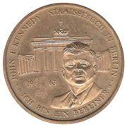 John F. Kennedy visit to Berlin – reverse