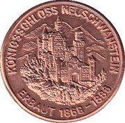 Neuschwanstein Castle Tourist Token – reverse