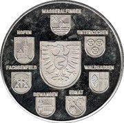 Token - Aalen (850 Jahre) – obverse