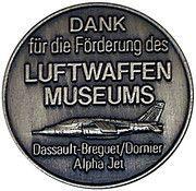 Token - Berlin (Museum Gatow) – reverse