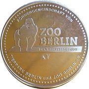 Token - Berlin Zoo (Lion) – reverse