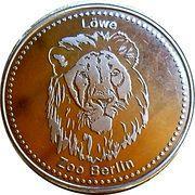 Token - Berlin Zoo (Lion) – obverse