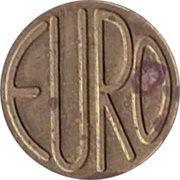 Token - Euro Rathaus – reverse
