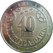 Token - Europa Park (40th Anniversary) – reverse