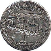 Token - Insel Mainau Wertmarke – reverse