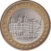 Token - Schweriner Schloss – reverse