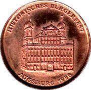 Historical Festival Augsburg 1988 – obverse