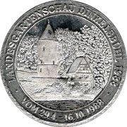 Landesgartenschau Dinkelsbühl 1988 – reverse