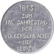 Token - Marschall Blücher – reverse