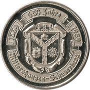 Mittershausen-Scheuerberg (650 Jahre) – obverse