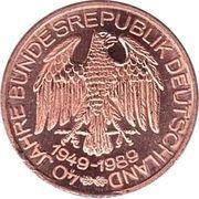 Token - 40 Jahre Bundesrepublik Deutschland (NATO) – reverse