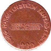 Token - Burg Forchtenstein – reverse