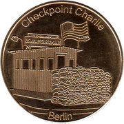 Token - Germany Deutsche Münzkollektion (Berlin - Checkpoint Charlie) – obverse
