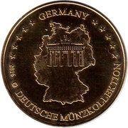 Token - Germany Deutsche Münzkollektion (Berlin - Checkpoint Charlie) – reverse