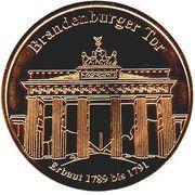Token - Germany Deutsche Münzkollektion (Berlin - Brandenburger Tor) – obverse