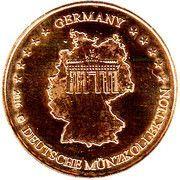 Token - Germany Deutsche Münzkollektion (Berlin - Brandenburger Tor) – reverse