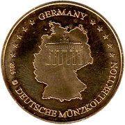 Token - Germany Deutsche Münzkollektion (Heidelberg - Heiliggeistkirche) – reverse
