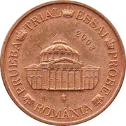1 Cent (Romania Euro Fantasy Token) – obverse