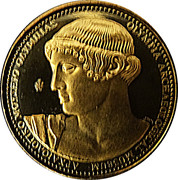 Token - Monuments and Museums of Greece (Archaeological Museum of  Olympia) – obverse