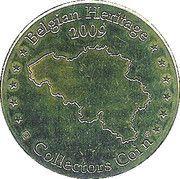 Belgian Heritage Collectors Coin - Antwerpen – reverse