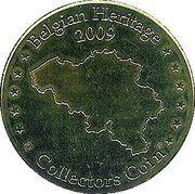 Belgian Heritage Collectors Coin - Parc Paradisio - Royaume de Ganesha – reverse