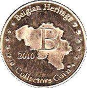 Belgian Heritage Collectors Coin - Bilzen – reverse