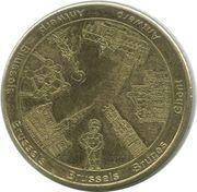 Belgian Heritage Collectors Coin - Brussels (Panorama Belgium; the Lion of Waterloo) – obverse