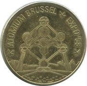 Belgian Heritage Collectors Coin - Brussel (Atomium Expo 58) – obverse
