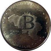Belgian Heritage Collectors Coin - Brussel (Manneken Pis) – reverse