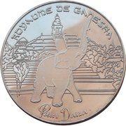 Belgian Heritage Collectors Coin - Pairi Daiza Royaume de Ganesha – obverse