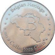 Belgian Heritage Collectors Coin - Pairi Daiza Royaume de Ganesha – reverse