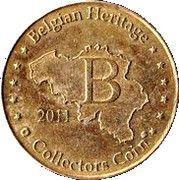 Belgian Heritage Collectors Coin - Antwerpen Zoo – reverse