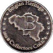 Belgian Heritage Collectors Coin - Lier (Zimmertoren) – reverse