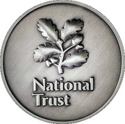 Token - National Trust (Oxburgh Hall) – reverse