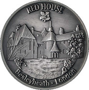 Token - National Trust (Red House, Bexleyheath) – obverse