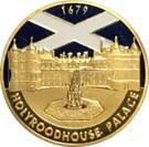 Token - Scotland (Edinburgh - Holyroodhouse Palace) – reverse