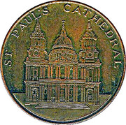 Token - St. Paul's Cathedral – obverse