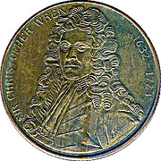 Token - St. Paul's Cathedral – reverse