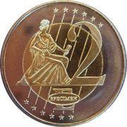 2 E (Bulgaria Euro Fantasy Token) – reverse