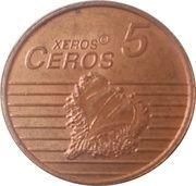 5 Xeros Ceros (San Marino Euro Fantasy Token) – reverse