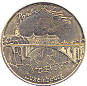 Luxembourg Heritage Collectors Coin - Pont Adolphe – obverse