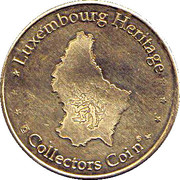 Luxembourg Heritage Collectors Coin - Pont Adolphe – reverse