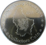 Luxembourg Heritage Collectors Coin - Golle Fra – reverse