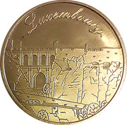 National Tokens Luxembourg Heritage - Chateau de Sigefroid – obverse