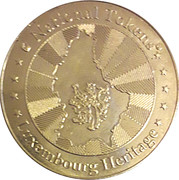 National Tokens Luxembourg Heritage - Chateau de Sigefroid – reverse